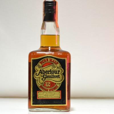 Aberlour Glenlivet 12 Square Dumpy Bottle