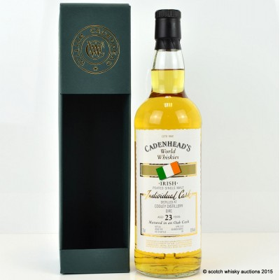 Cadenhead's Cooley 23 Year Old Peated