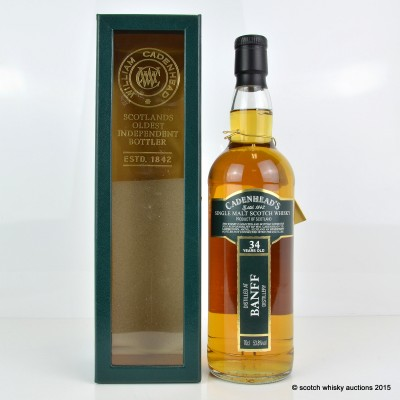 Cadenhead's Banff 1976 34 Year Old