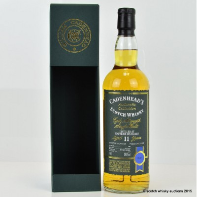Cadenhead's Bowmore 2000 11 Year Old