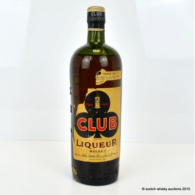 McKibbin & Son Club Liqueur 12 Year Old