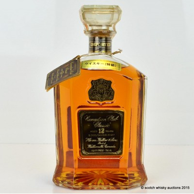 Canadian Club 12 Year Old 75cl