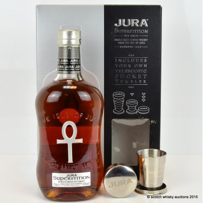 Jura Superstition with Telescopic Pocket Tumbler