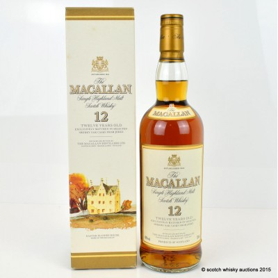 Macallan 12 Year Old Old Style 75cl
