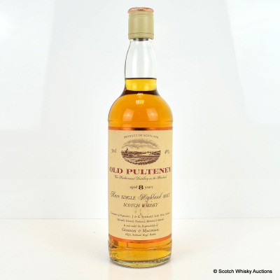 Old Pulteney 8 Year Old