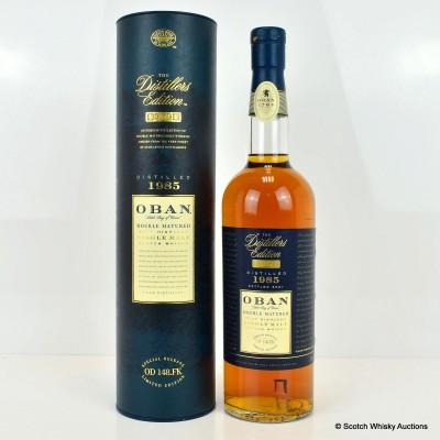 Oban 1985 Distillers Edition