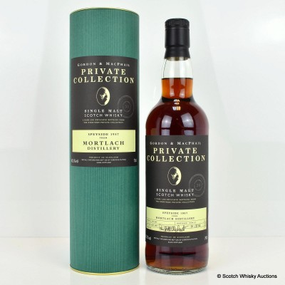 Mortlach 1957 50 Year Old Private Collection G&M