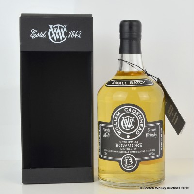 Cadenhead's Bowmore 2001 13 Year Old Small Batch