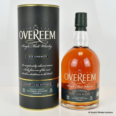 Overeem Cask Strength Sherry Cask