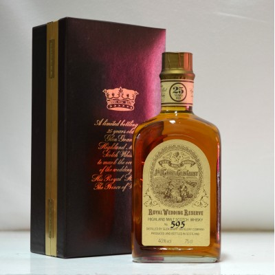 Glen Grant Royal Wedding Reserve 25 Year Old