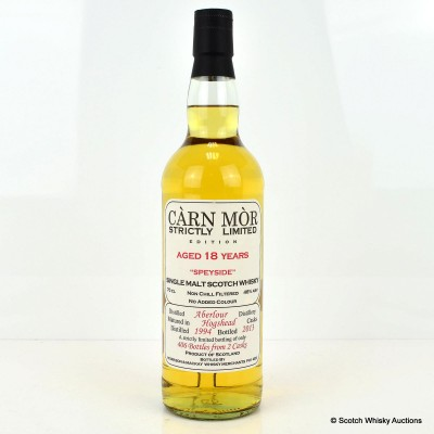Aberlour 1994 18 Year Old Carn Mor