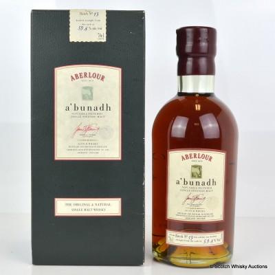 Aberlour A'Bunadh Batch #13