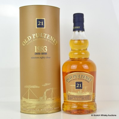 Old Pulteney 1983 21 Year Old