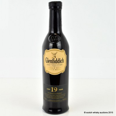 Glenfiddich Age Of Discovery Bourbon Cask 19 Year Old 20cl