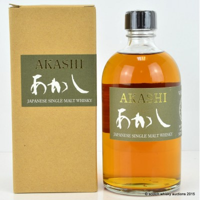 Akashi White Oak Single Malt Whisky 50cl