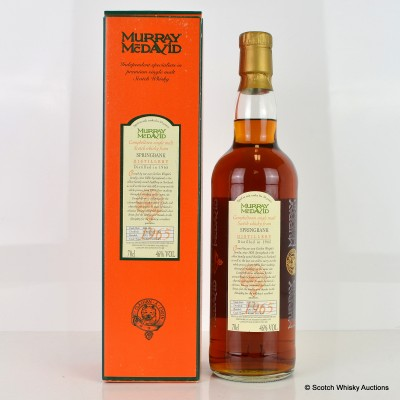 Springbank 1965 34 Year Old Murray McDavid