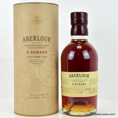 Aberlour A'Bunadh Batch #34