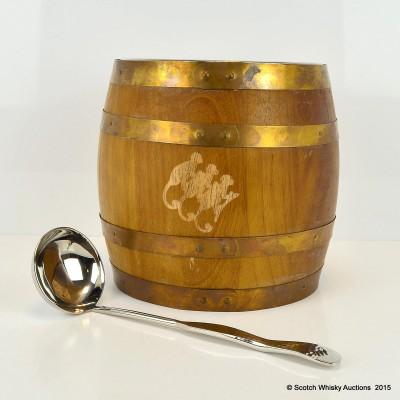 Monkey Shoulder Punch Bowl & Hammered Monkey Shoulder Ladle