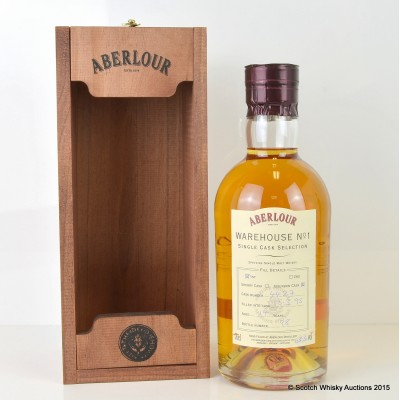 Aberlour Warehouse No 1 Single Bourbon Cask Selection 1995 14 Year Old