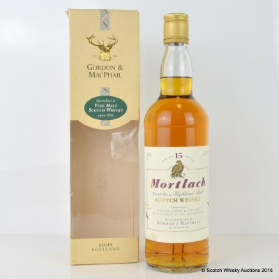 Mortlach 15 Year Old G&M