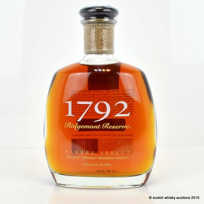 1792 Ridgemont Reserve Kentucky Straight Bourbon