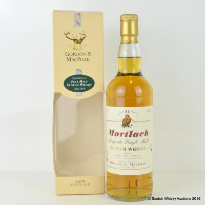 Mortlach 21 Year Old G&M