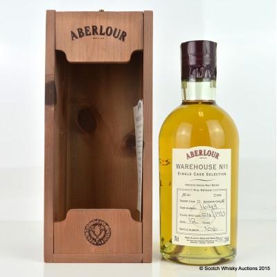 Aberlour Warehouse No 1 Single Bourbon Cask Selection 1993 12 Year Old
