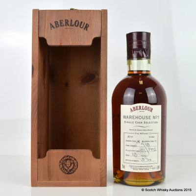 Aberlour Warehouse No 1 Single Sherry Cask Selection 1992 13 Year Old