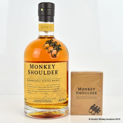 Monkey Shoulder & Playing Cards