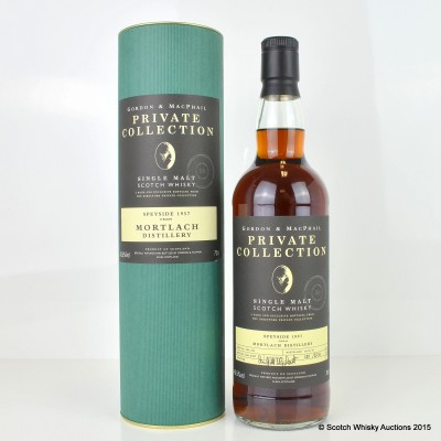 Mortlach 1957 50 Year Old G&M Private Collection