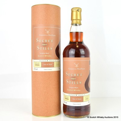 Talisker 1955 50 Years Old G&M Secret Stills