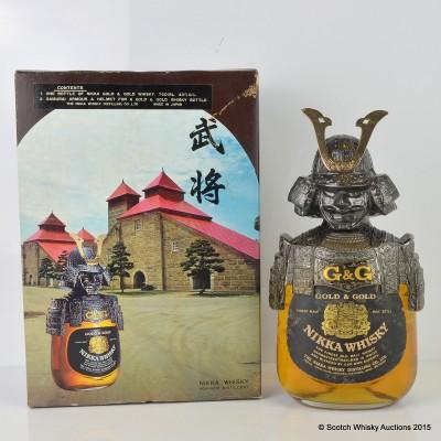 Nikka Gold & Gold Samurai 76cl