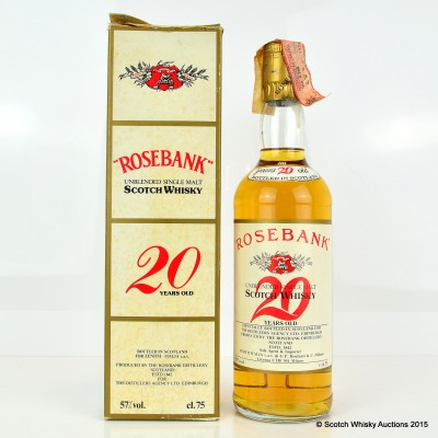 Rosebank 20 Year Old Old Style 75cl