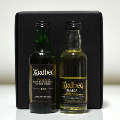 Ardbeg 10 Year Old and Ardbeg Blasda Limited Release (Minis)