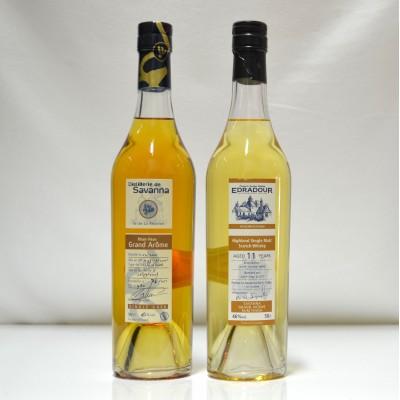 Edradour 11 Year Old Savana Rum Finish & Savana Grand Arome