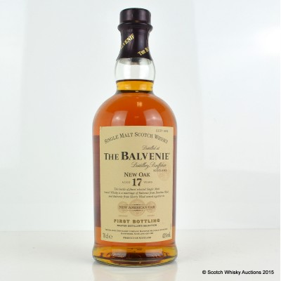 Balvenie New Oak 17 Year Old First Bottling