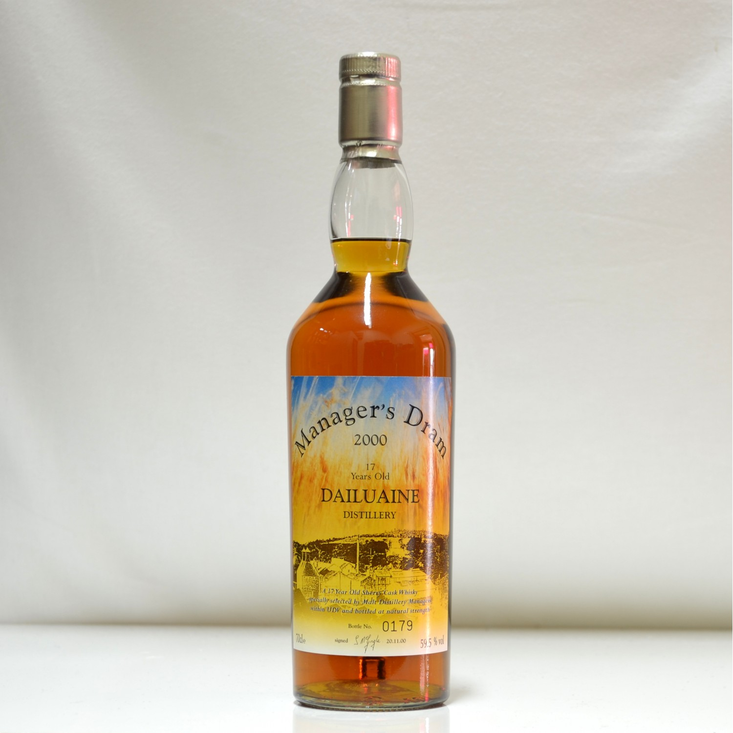Scotch Whisky Auctions The 19th Auction Dailuaine 17