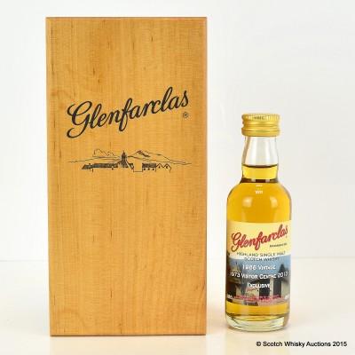 Glenfarclas 1988 Vintage Visitor Centre 1973 - 2013 Mini 5cl