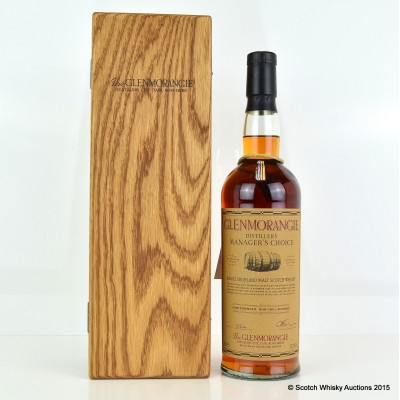 Glenmorangie Distillery Manager's Choice 1987