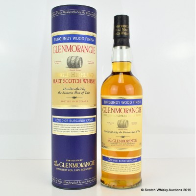 Glenmorangie Cote D'Or Burgundy Finish