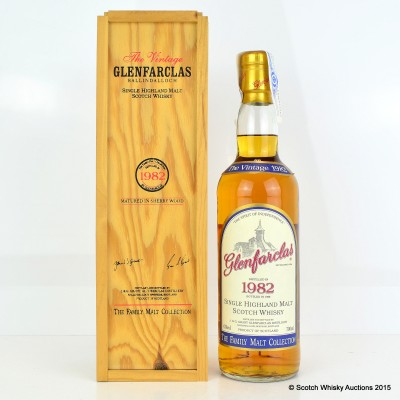 Glenfarclas 1982 Family Malt Collection