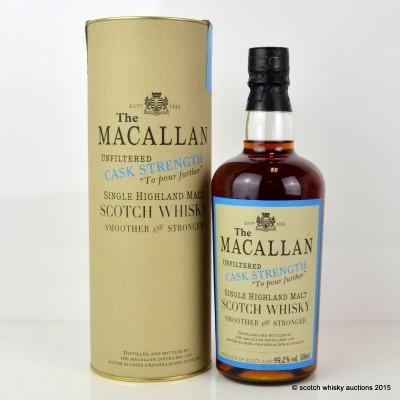 Macallan Cask Strength 1989 50cl