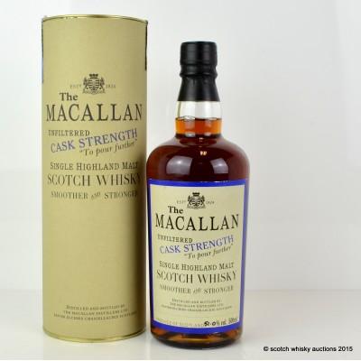 Macallan Cask Strength 1980 50cl