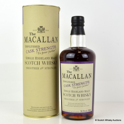 Macallan Cask Strength 1980 21 Year Old 50cl