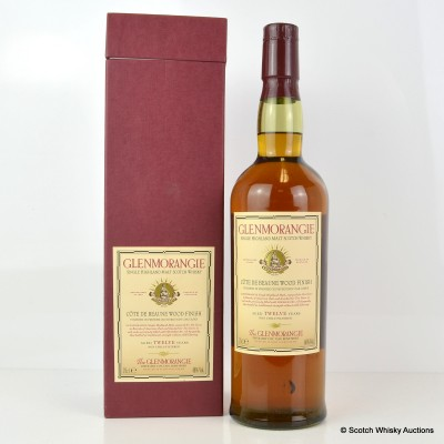 Glenmorangie Cote De Beaune Wood Finish 12 Year Old