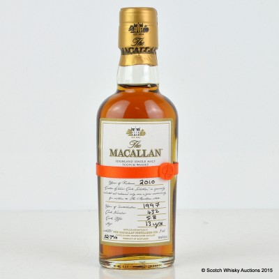 Macallan Easter Elchies 2010 Mini 5cl