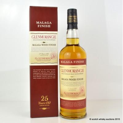 Glenmorangie Malaga Cask 25 Year Old 75cl