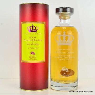 English Whisky Co Birth of Princess Charlotte