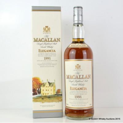 Macallan Elegancia 1991 1L