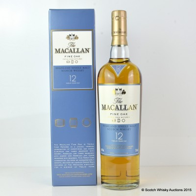 Macallan Fine Oak 12 Year Old